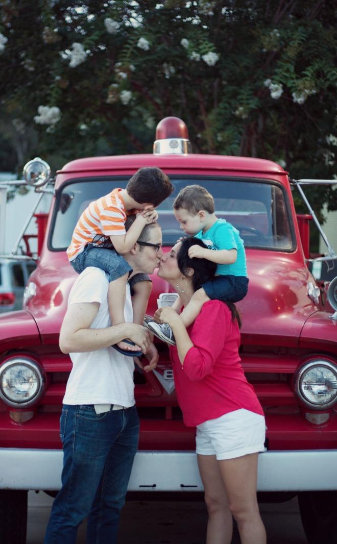 Fire Truck kiss