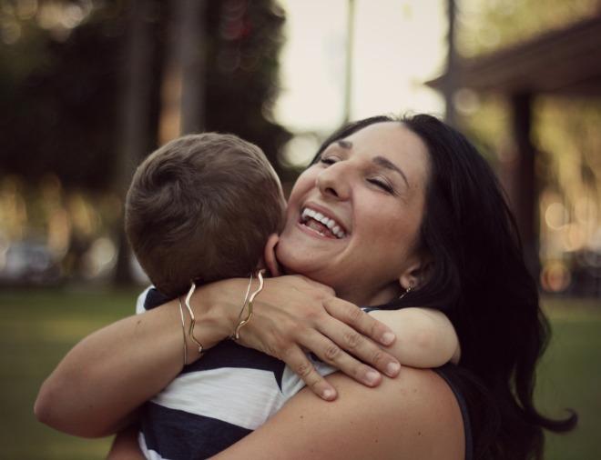 Owen Mama hug